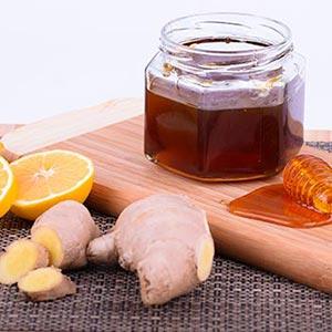 Zdjęcia imbir miód i cytryna - zioła i rośliny lecznicze